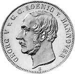 Taler  Georg V. 1853  vorzüglich