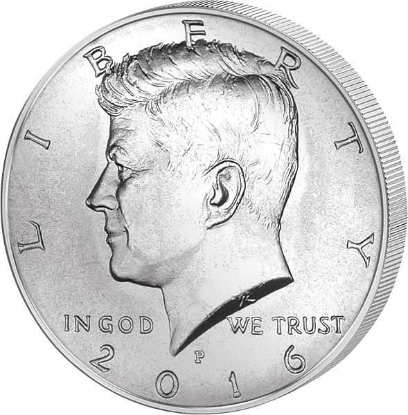 1/2 Dollar USA John F. Kennedy 2016
