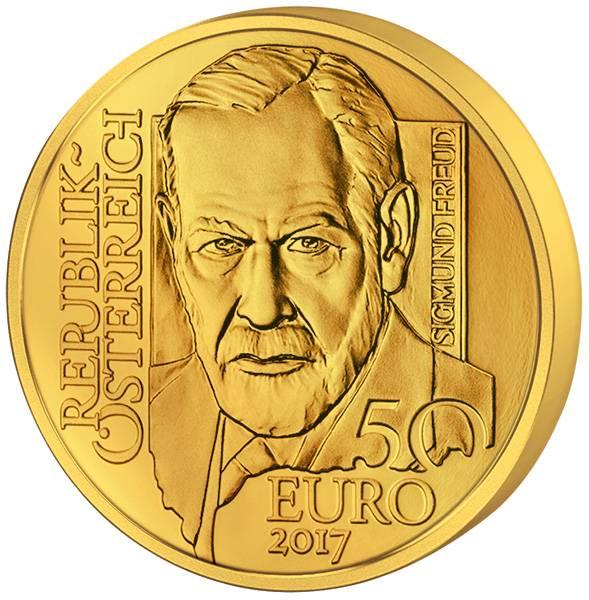 50 Euro Österreich Sigmund Freud 2017