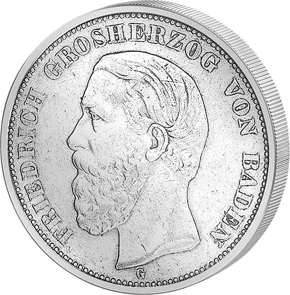 2 Mark Baden Friedrich I. 1876-1888 s-ss