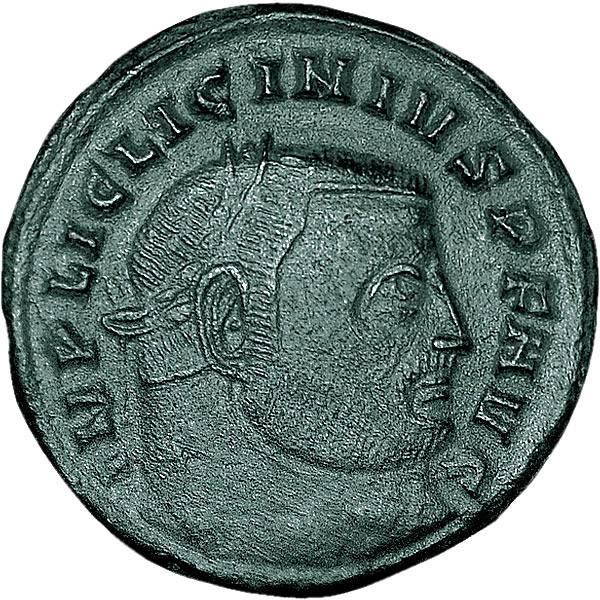 Mittelfollis Rom Kaiser Licinius I.