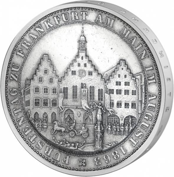 Taler Vereinstaler Fürstentag 1863  Vorzüglich (vz)