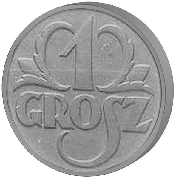 1 Grosz Generalgouvernement Polen 1939 ss-vz
