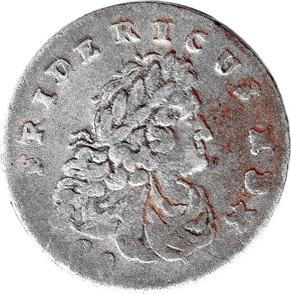 Sechsgröscher Preußen König Friedrich I.