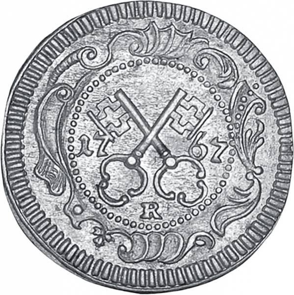 Kreuzer Reichsstadt Regensburg 1754-1776 ss-vz