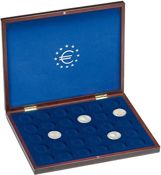 Münzkassette für 10 Euro-Gedenkmünzen in Kapseln