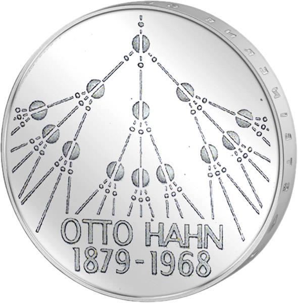 5 DM BRD Otto Hahn