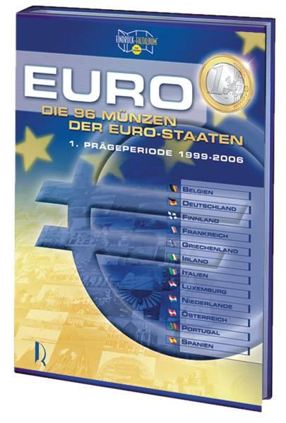 Euromünzen-Faltalbum: Die erste Prägeperiode Faltalbum leer