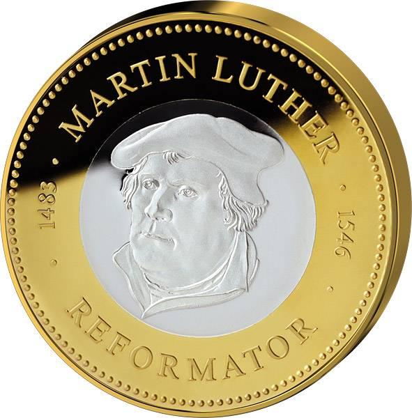 Gedenkprägung Martin Luther