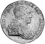 Taler Konventionstaler Friedrich August III. 1800-1806 Vorzüglich