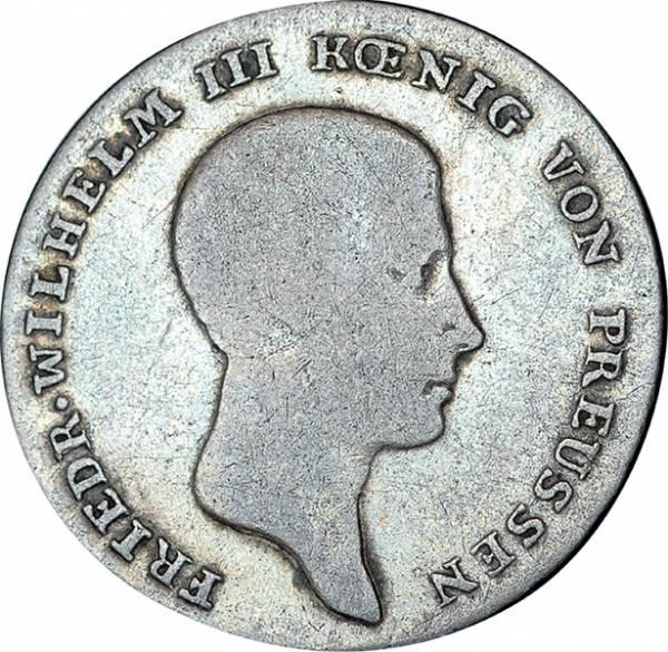 1/6 Taler Preußen Friedrich Wilhelm III.