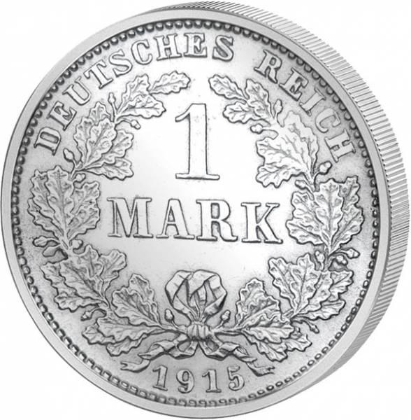 1 Mark Deutsches Kaiserreich großer Adler 1891-1916 Sehr schön