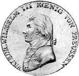 Taler  Friedrich Wilhelm III. 1800-1801  sehr schön
