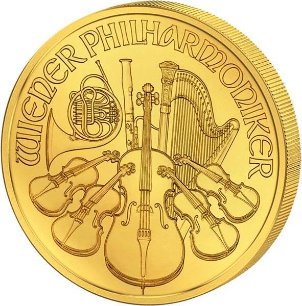 1/2 Unze Gold Österreich Philharmoniker 2018
