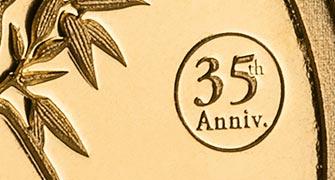 35. Jubiläum des Gold-Pandas