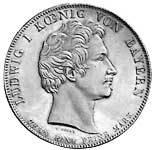 Geschichtstaler Ludwig I. Handelsvertrag 1829 vz-pfr
