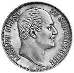 Taler Vereinstaler Albert 1867 Sehr schön