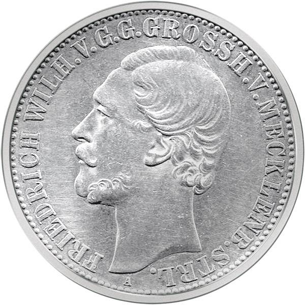 Taler Vereinstaler Ernst 1862, 1864, 1870 ss-vz