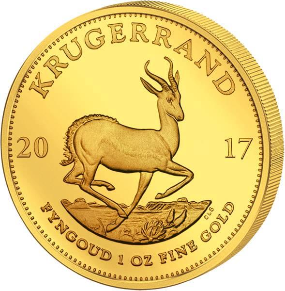 1 Unze Gold Südafrika Krügerrand 2017