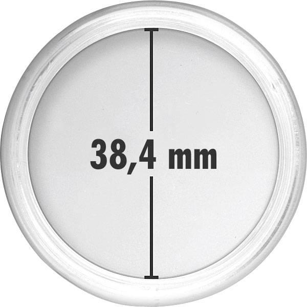 Münzkapsel Innendurchmesser 38,4 mm