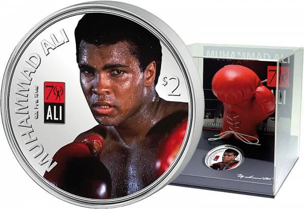 2 Dollars Fidschi Muhammad Ali