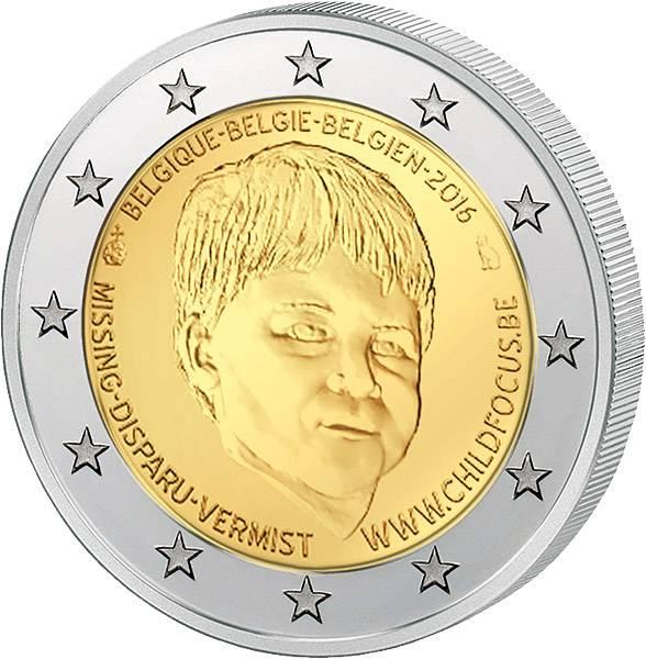 2 Euro Belgien Organisation Child Focus