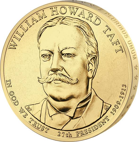 1 Dollar USA William Howard Taft 2013 Stempelglanz
