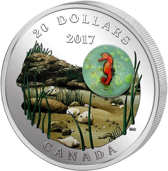 20 Dollars Kanada Unter dem Meer - Seepferdchen
