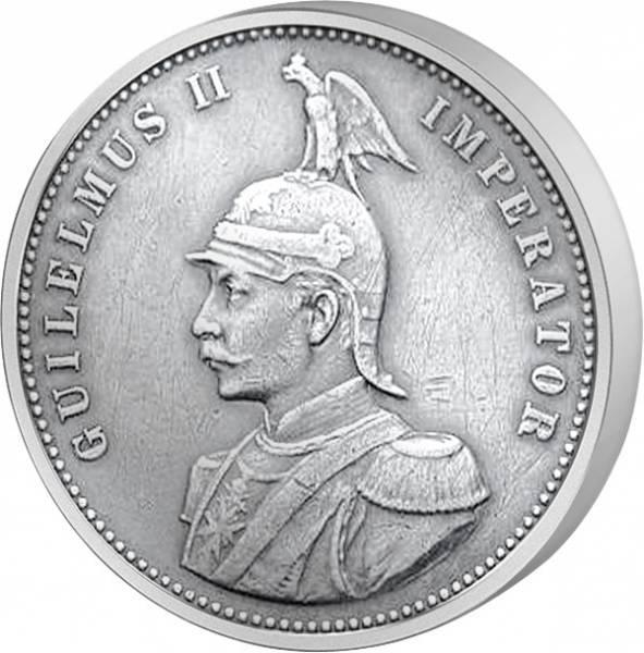 1/4 Rupie Deutsch Ostafrika Wilhelm II. 1891-1901 Sehr schön