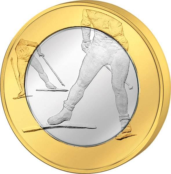 5 Euro Finnland Skilanglauf 2016   Stempelglanz