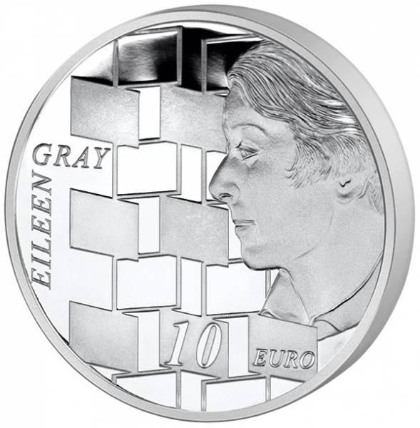 10 Euro Irland Kunstepochen Europas: Moderne  - Eileen Gray 2016