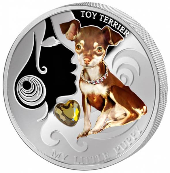 2 Dollars Fidschi Toy Terrier 2013