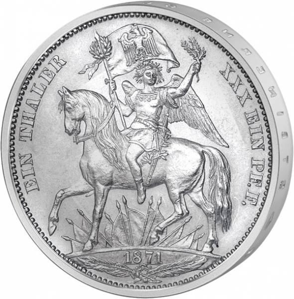 Taler Siegestaler Johann 1871 ss-vz