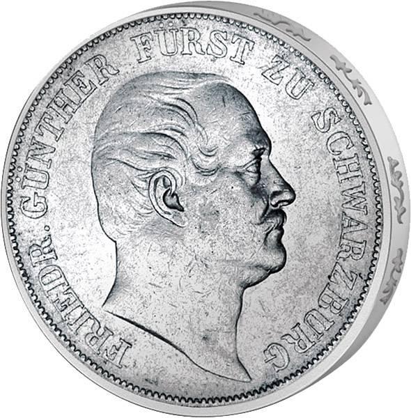Vereinstaler Friedrich Günther