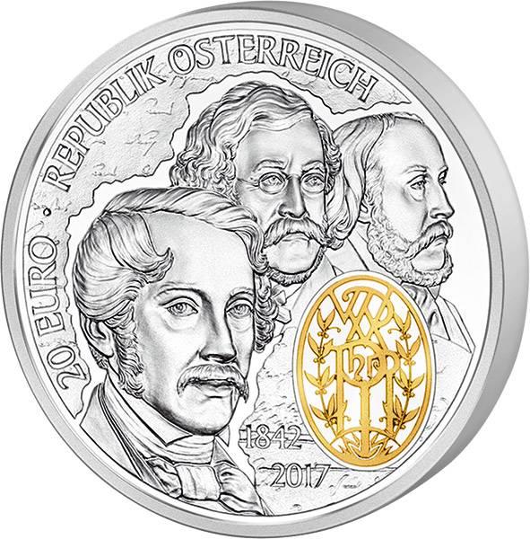 20 Euro Österreich Philharmoniker 2017