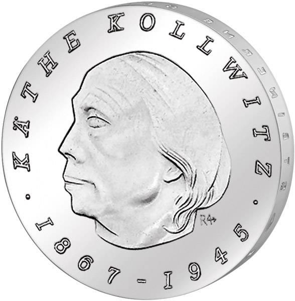 10 Mark  Käthe Kollwitz 1967 A Stempelglanz