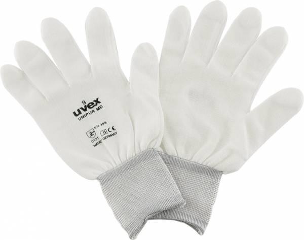uvex-Handschuh Polyamid weiß