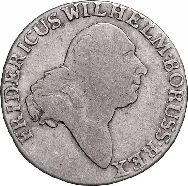 4 Groschen Brandenburg-Preußen Friedrich Wilhelm II.