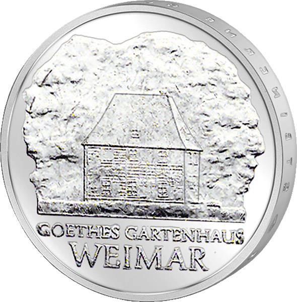 5 Mark Goethes Gartenhaus in Weimar