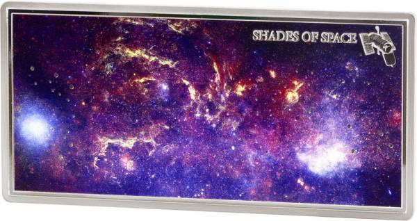 5 Dollars Samoa Shades of Space Hubble-Telescope 2017
