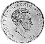 Taler Ausbeutekonventionstaler Anton 1829-1832 ss-vz