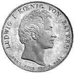 Geschichtstaler Ludwig I. Theresienorden 1827 vorzüglich