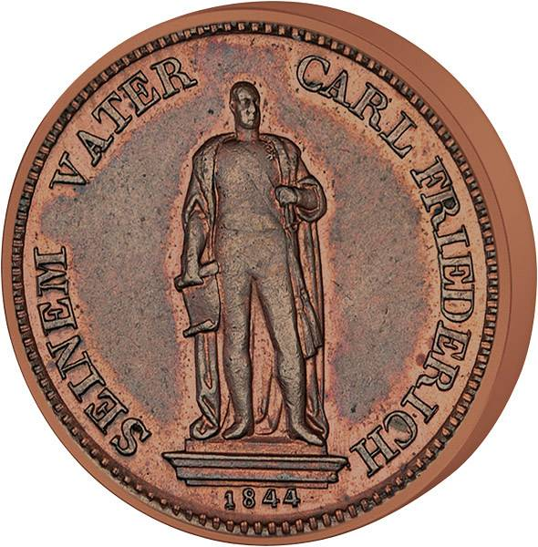 1 Kreuzer Baden Großherzog Leopold
