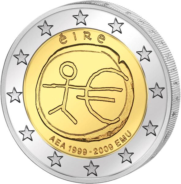 2 Euro 10 Jahre Wwu Gemeinschaftsausgabe Aller Länder 2009