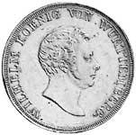 Taler Kronentaler Wilhelm 1825-1837 ss-vz