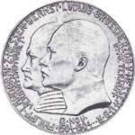 5 Mark Hessen Darmstadt Philipp 1904 Vorzüglich