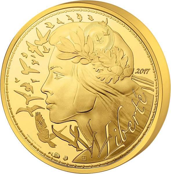 250 Euro Frankreich Marianne - Liberté 2017