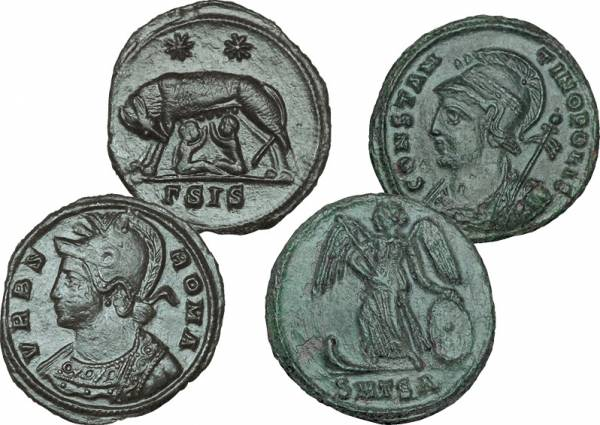 Mittelfollis Rom Constantinopolis und Urbs Roma