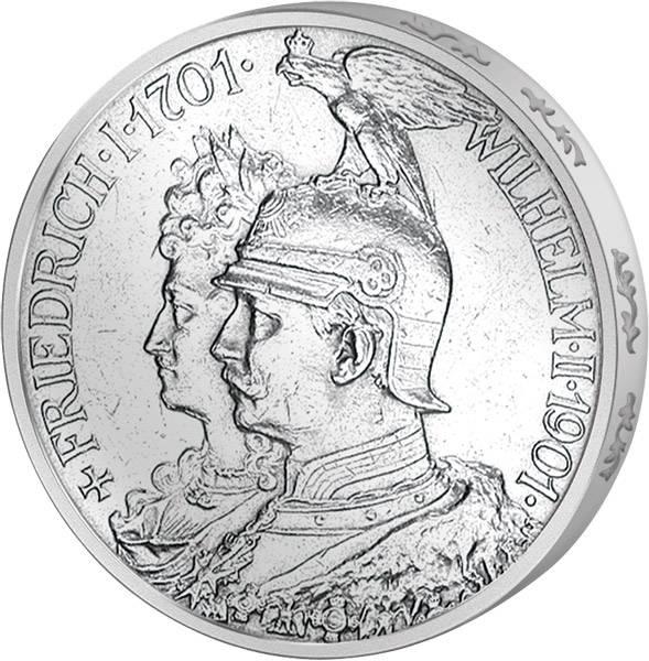 5 Mark Preußen 200 Jahre Königreich 1901 Vorzüglich