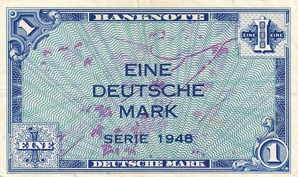 1 DM BRD Banknote 1948